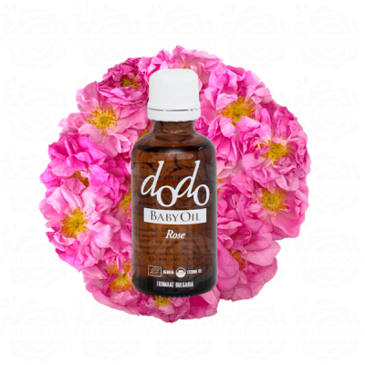 Bulgarian rose organic baby oil