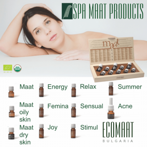 Organic massage oils - Spa Maat