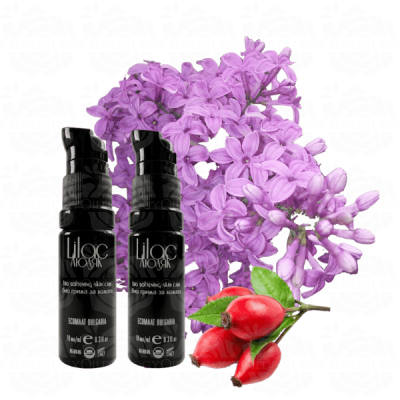 Organic lilac softening + hydrating facial skin care serum