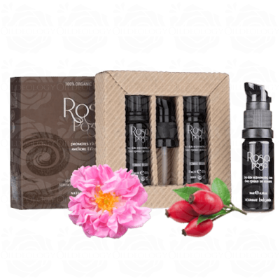 Organic Bulgarian rose facial serum Ecomaat
