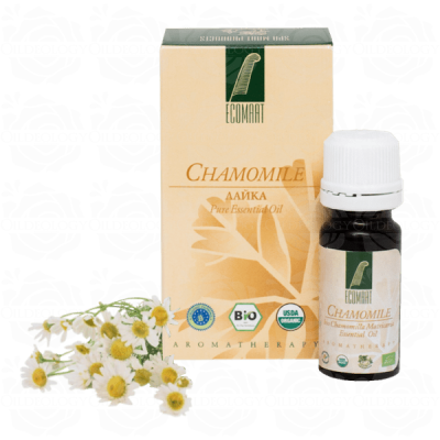 Organic Pure Chamomile oil 10ml Ecomaat